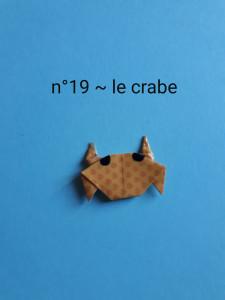 n°19 - le crabe