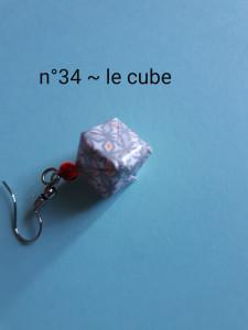n°34 - le cube