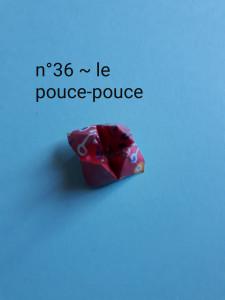 n°36 - le pouce-pouce